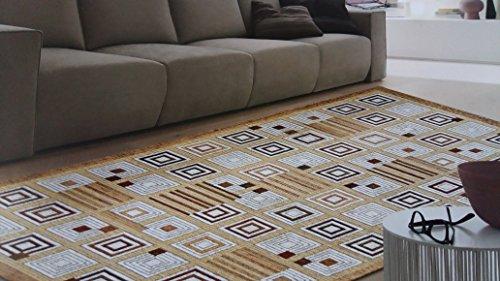 tappeto-sirtaki-quadri-colore-beige-tortora-salotto-living-camera-misura-cm-175x240-in-ciniglia-con-