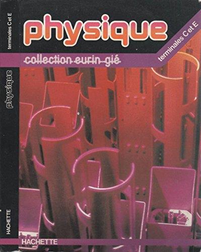 Physique terminales C et E
