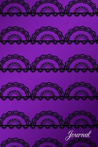 Journal: Purple pretty lace notebook por Brothergravydesigns