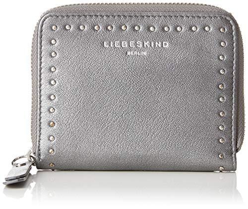 Liebeskind Berlin Damen Slconnyw8 Slov2m Geldbörse, Silber (Iron Silver), 3.0x13.0x10.0 cm