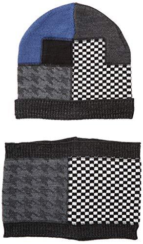 Mek scaldacollo set sciarpa, guanti e cappello, multicolore (fantasia 01 996), 56 (taglia produttore:m) bambino