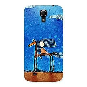 NEO WORLD Deer Boy Back Case Cover for Galaxy Mega 6.3