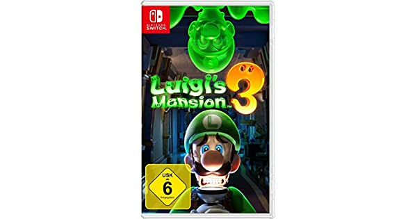 Nintendo Luigi S Mansion 3 Nintendo Switch Amazon De Games