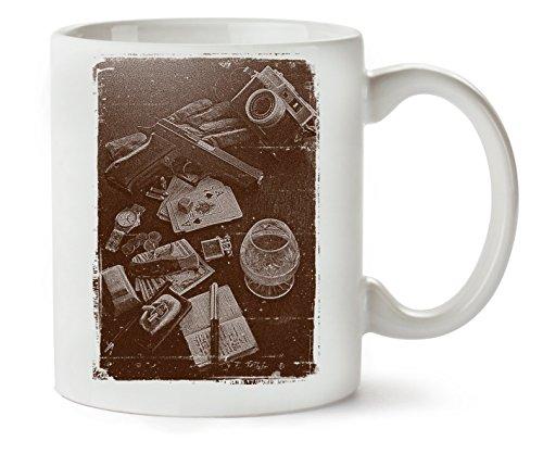 MugsWorld Mafia Stuff Klassische Teetasse Kaffeetasse