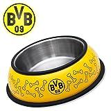 Borussia Dortmund Hundefressnapf / Fressnapf / Hundenapf / Napf Edelstahl BVB 09