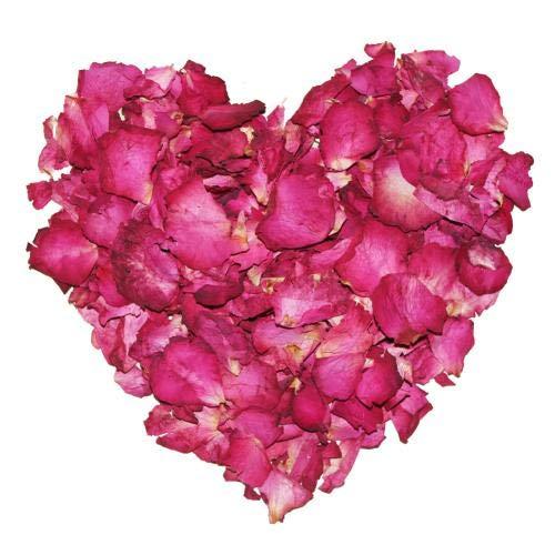 JQ Tea Gute Qualität Bio Trocken die Rose Kronblatt Rose Petals Chinesischer Kräutertee 1.1 LB / 500g Frische Ernte -