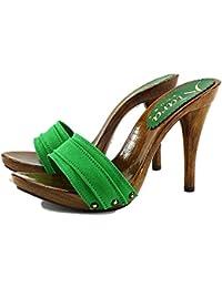In Donna Scarpe Italy Made Scarpe Verde it Da Amazon UngAg