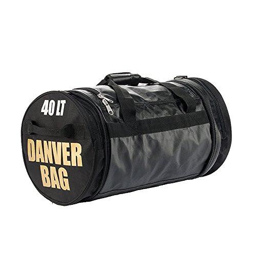 Danver Total Carbon, Borsone Sportivo Unisex - Adulto, Nero, 60 Litri