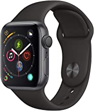 Apple Watch Series 4 40mm Aluminum Case with Black Sport Band GPS watchOS 6 - Space Grey