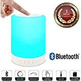 Elevea Wireless Bluetooth Speakers, Portable Multifunctional Bluetooth Speaker With Smart Touch LED Mood Lamp For All Smartphone & IOS Device-Assorted Colour (1 Year Warranty)