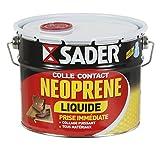 Sader Colle Contact Néoprène Liquide Seau 2,5 L