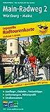 Main-Radweg 2, Würzburg - Mainz: Leporello Radtourenkarte mit Ausflugszielen, Einkehr- & Freizeittipps, wetterfest, reissfest, abwischbar, GPS-genau. 1:50000 (Leporello Radtourenkarte / LEP-RK) -