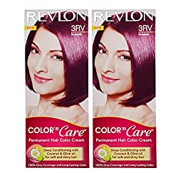 Revlon Combo of Color N Care Hair Color - Burgundy 3Rv