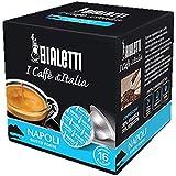 160 Capsule Alluminio I Caffe' D'Italia Bialetti Mokespresso Napoli Originali
