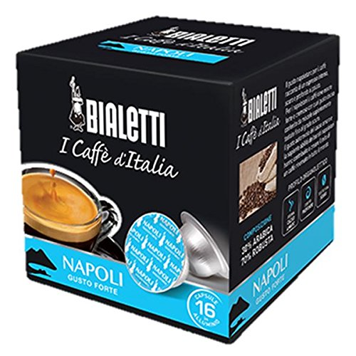 64 Capsule I Caffè D\'Italia Bialetti NAPOLI