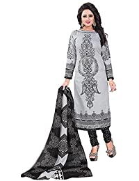 Om Tex Creation Women's Clothing Daily Wear Cotton Dress Material With Cotton Dupatta Unstitched