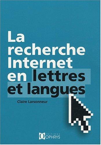 Recherche Internet en lettres et langues