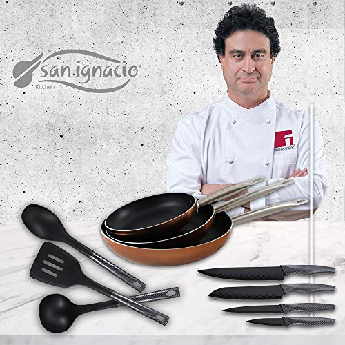 San Ignacio Professional Chef Copper Set 3 sartenes