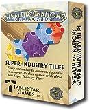 Tablestar Games - Wealth of Nations Super Industry Tiles