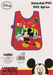 ARDITEX WD9051 Delantal sin Mangas para Actividades de Disney-Mickey