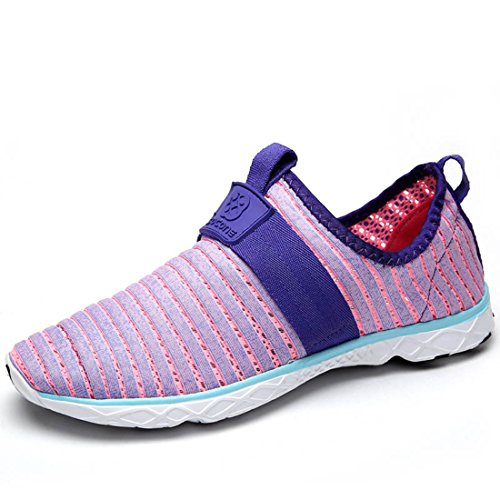 Men's Mesh Breathable Zapatillas Deportivas Hombre Running Shoes women purple