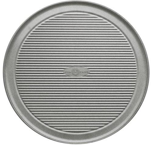 USA Pan Bakeware Aluminized Steel 30.5 cm Pizza Pan, edelstahl, silber