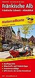 Fränkische Alb - Fränkische Schweiz - Altmühltal: Motorradkarte mit Tourenvorschlägen,...