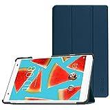 Fintie Lenovo Tab4 8 Plus Hülle - Ultradünne Superleicht Schutzhülle Tasche Etui Case mit Auto Schlaf / Wach Funktion für Lenovo Tab 4 8 Plus 20,32 cm 8 Zoll Tablet-PC (Not für Lenovo Tab4 8),Marineblau