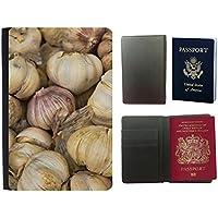 PU Funda para pasaporte // M00293969 Aglio aglio intero chiodi