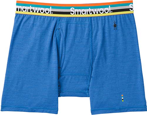 Smartwool Merino 150 Pattern Boxer Brief Men Bright Cobalt Größe M 2019 Unterwäsche (12 Mens Boxer Briefs)