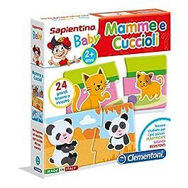 Clementoni 11969 – Clementoni Baby Mamme e Cuccioli
