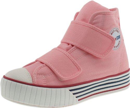 C30–Maxstar bandes Velcro avec plateforme Baskets Chaussures en toile Rose - rose