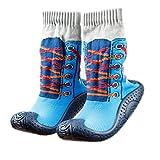 Kinder Haussocken Socken mit Gummisohle Turnschuh OB-002 Gr. 22