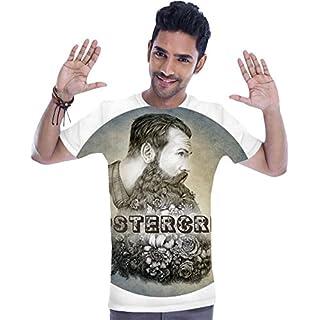 Hipstercrite Hipster Beard Moustache T-shirt XX-Large