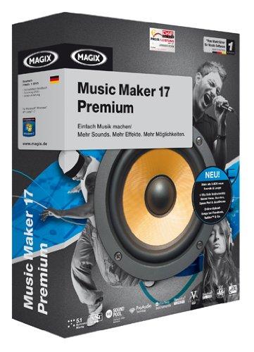 MAGIX Music Maker 17 Premium (Registrierter Speicher)