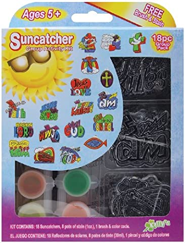 New Image Group Suncatcher Group Activity Kit-Religious 18/Pkg, Other, (Immagine Gruppo)