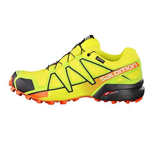 Salomon Speedcross 4 Gtx, Chaussures de Trail Homme, Rouge Jaune