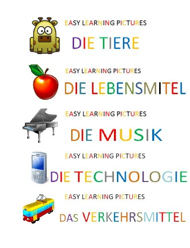 Visual German Dictionary (Spanish Edition)