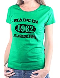 Mister Merchandise Femme Chemise T-Shirt Made in 1962 All Original Parts Years Jahre Geburtstag