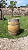 Original oak wine barrel Oak 225Litres Stool Home Garden Decoration, Wood Barrel