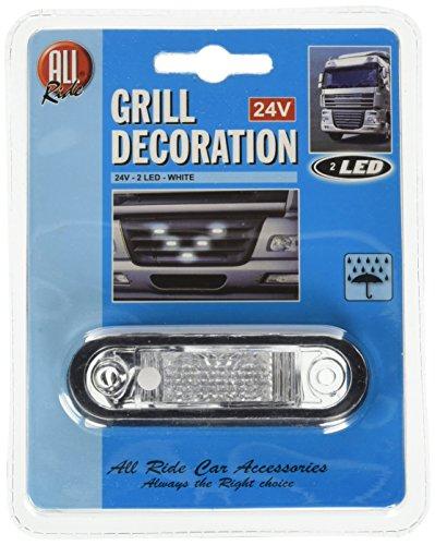 Preisvergleich Produktbild All Ride LED Deko-Licht Kühlergrill weiß 24V