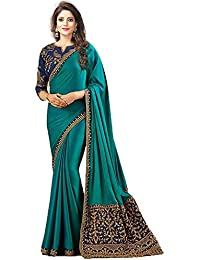 a77ee000684e3 Macube Georgette Saree With Blouse Piece(Ms1715 2019 Multi Coloured Free  Size)