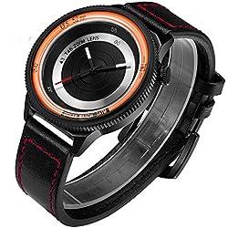 Break New Original Luxury Men Women Unisex Leather Strap Creative Photographer Sport Fashion Casual Cool quartz Watches