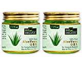 Indus valley 100% Natural, Pure Aloe Vera Gel for Skin and Hair