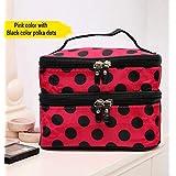 TIED RIBBONS Cosmetic Bag For Women Cum Travel Makeup Bag Cosmetic Bag Organizer