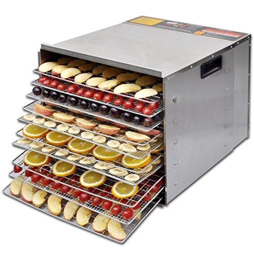 Anself-Deshidratadora-de-alimentos-con-10-bandejas-acero-inoxidable-7-temperaturas