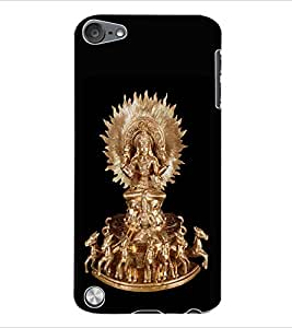 ColourCraft Lord Sun Back Case Cover for APPLE IPOD TOUCH 5