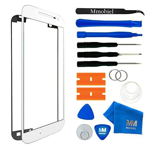 MMOBIEL® Kit de Reemplazo de Pantalla Táctil para Samsung Galaxy Note 4 N910 Series (Blanco) incluye pantalla de Vidrio/cinta adhesiva/Kit de Herramientas/Limpiador/alambre Metálico/Manual