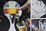 InnovaGoods Ball Dispenser di Birra refrigerante, PMMA, Argento, 24x 24x 42cm