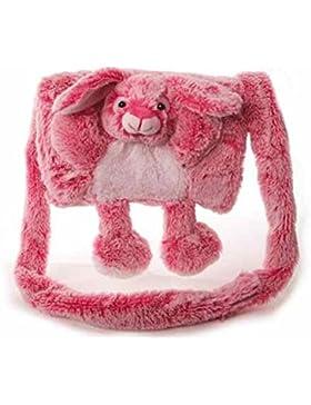 Inware - Muff für Kinder, warm und kuschelig, Tiermuff, Motiv: Tiere
